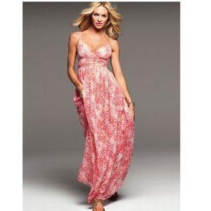 Coral Victoria secret maxi dress